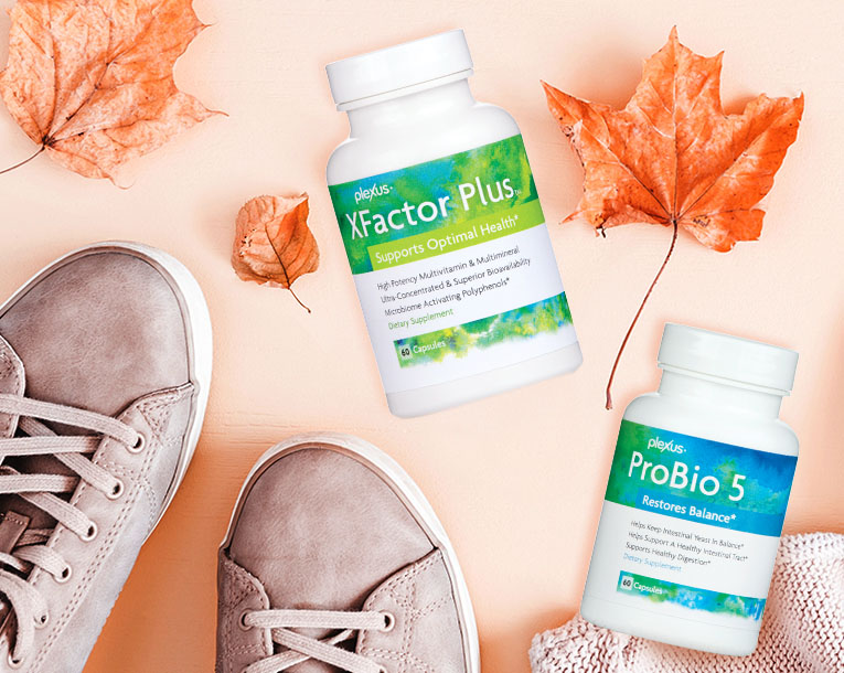 Plexus nutrition products include Vitalbiome, XFactor Plus, XFactor Family Chewables, Nerve, Ease, EDGE, Bio Cleanse, MegaX, and Probio5