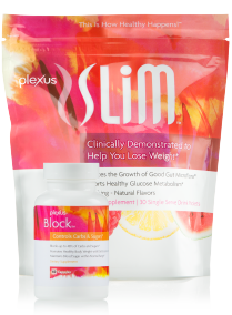 This powerful combination is a great way to kick start your weight loss and help block the absorption of up to 48% of the carbs and sugars from your meal. When combined with diet and exercise, the Plexus Slim and Block combo is a safe and effective weight loss solution that helps support healthy glucose metabolism.