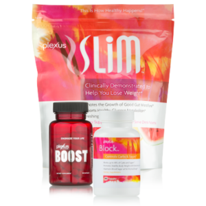 Plexus Slim, Boost and Block work together to jumpstart your weight loss goals. This combination of high-quality ingredients can support healthy glucose metabolism, suppress hunger, and help block the absorption of up to 48% of carbs and sugars from your meal.*