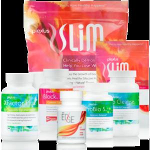 1 Plexus Slim® (30 day) 1 Plexus EDGE™ (30 ct.) 1 Plexus Block™ (60 ct.) 1 Plexus Bio Cleanse™ (120 ct.) 1 Plexus ProBio 5 (60 ct.) 1 Plexus XFactor Plus™ (60 ct.) 1 Plexus Slim® 7-day Trial Pack 1 Success Kit
