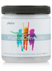 Plexus XFactor Family Chewables offer an easy way to provide children with essential vitamins and minerals.