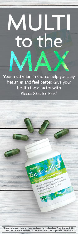 our multivitamin should help you stay healthier and feel better. Give your health the x-factor with Plexus XFactor Plus.*