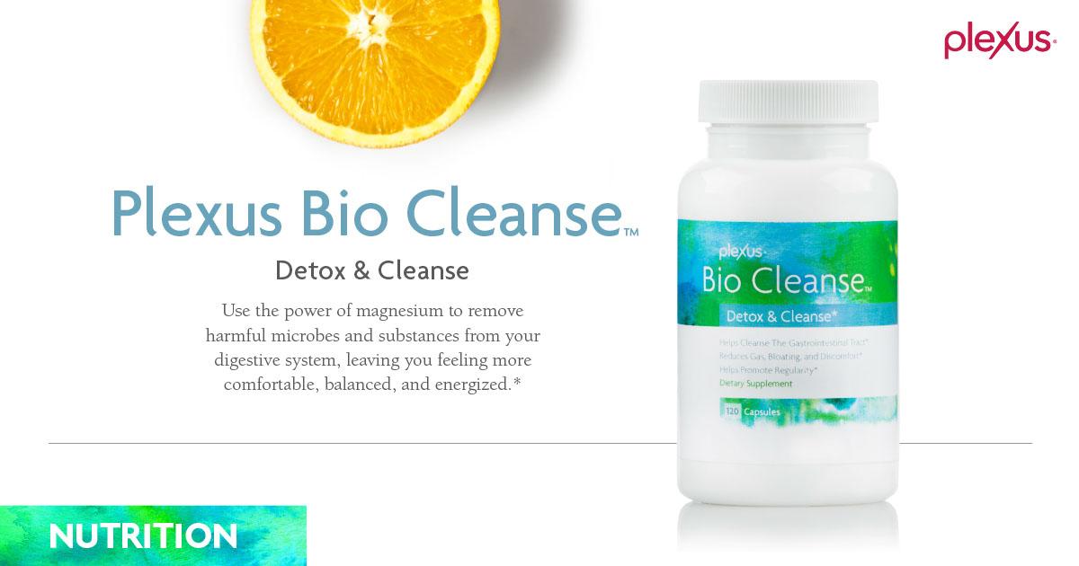 Bio Cleanse Information Sheet - Plexus Worldwide
